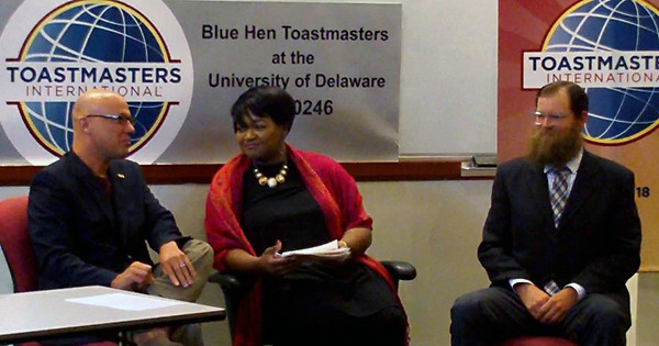 Toastmasters starts UD chapter