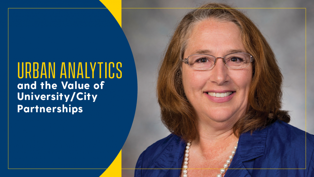 Katherine B. Ensor will be speaking on urban analytics and the value of university and city partnerships at the W.L. Gore Lecture Series in Management Science.