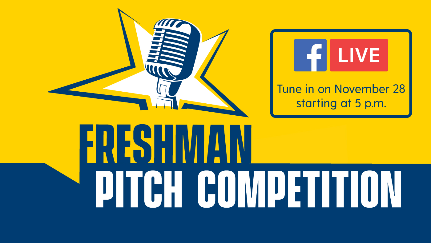 Lerner freshmen compete in pitch competition