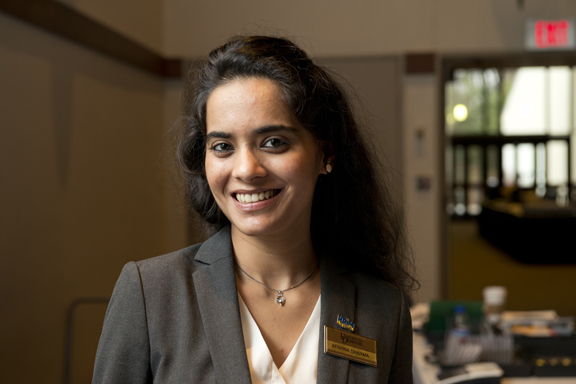 Aparna Sharma, Hospitality Business Management Alum