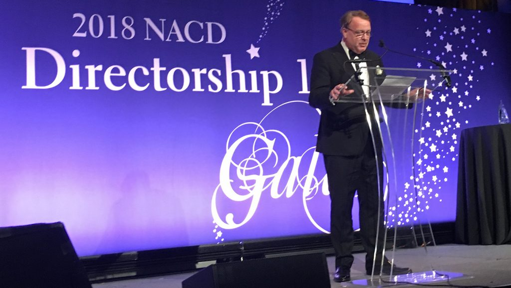 Lawrence Cunningham speech at NACD