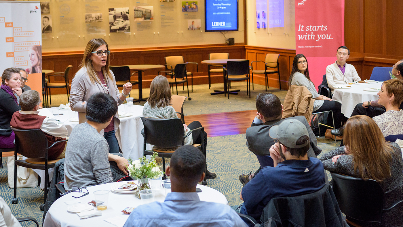 Lerner Diversity Council and PwC help students overcome blind spots