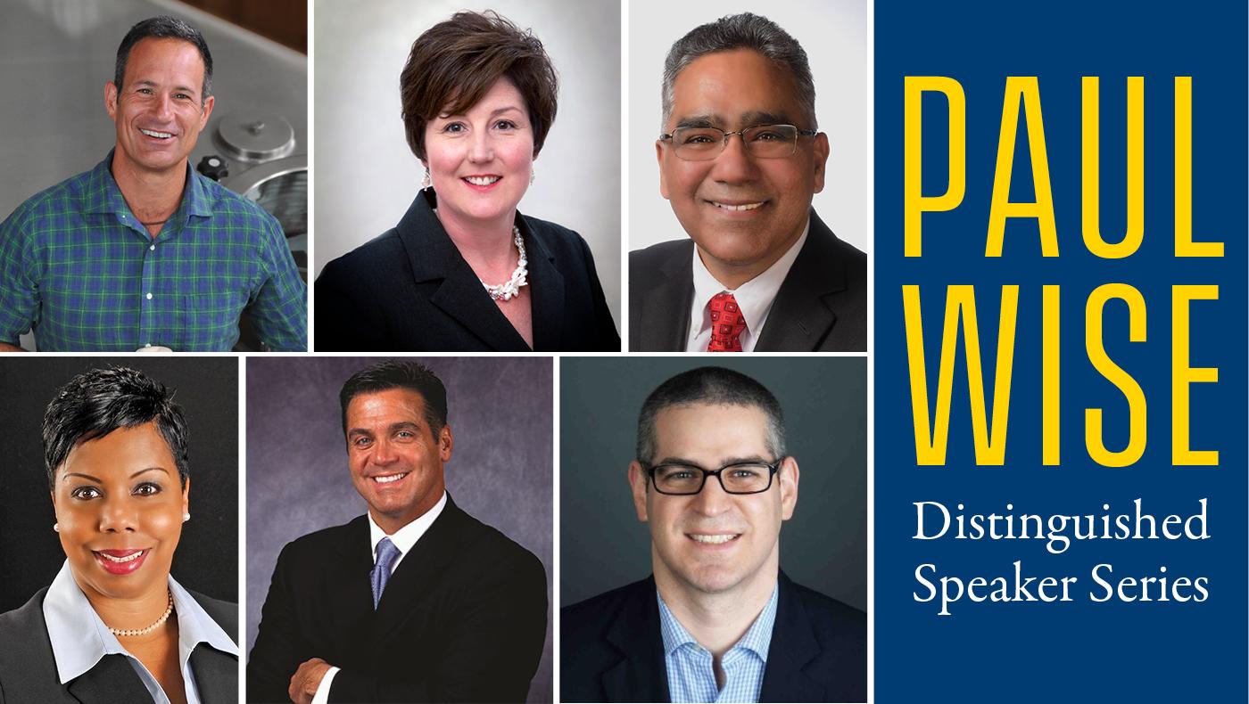 Paul Wise Distinguished Speaker Series brings hospitality industry leaders to UD