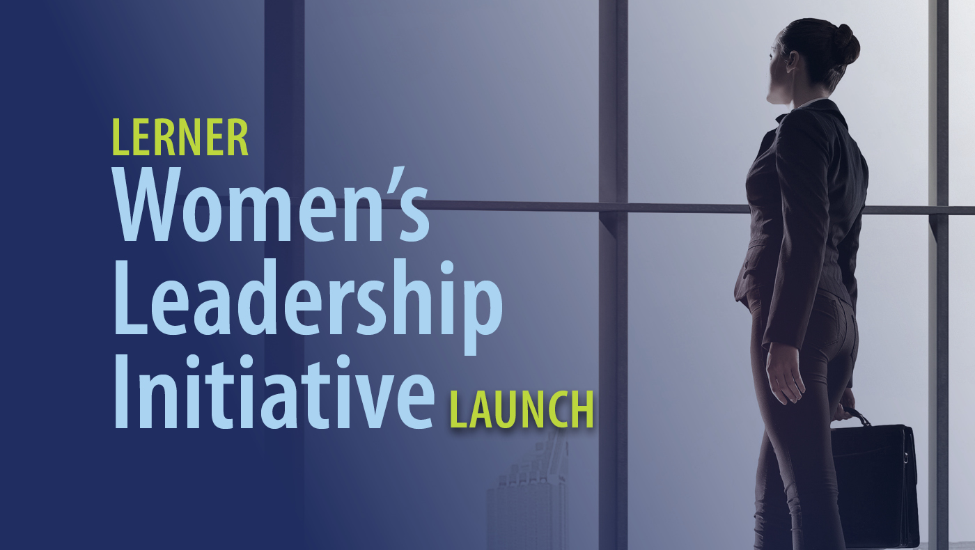 Women's leadership initiative launch