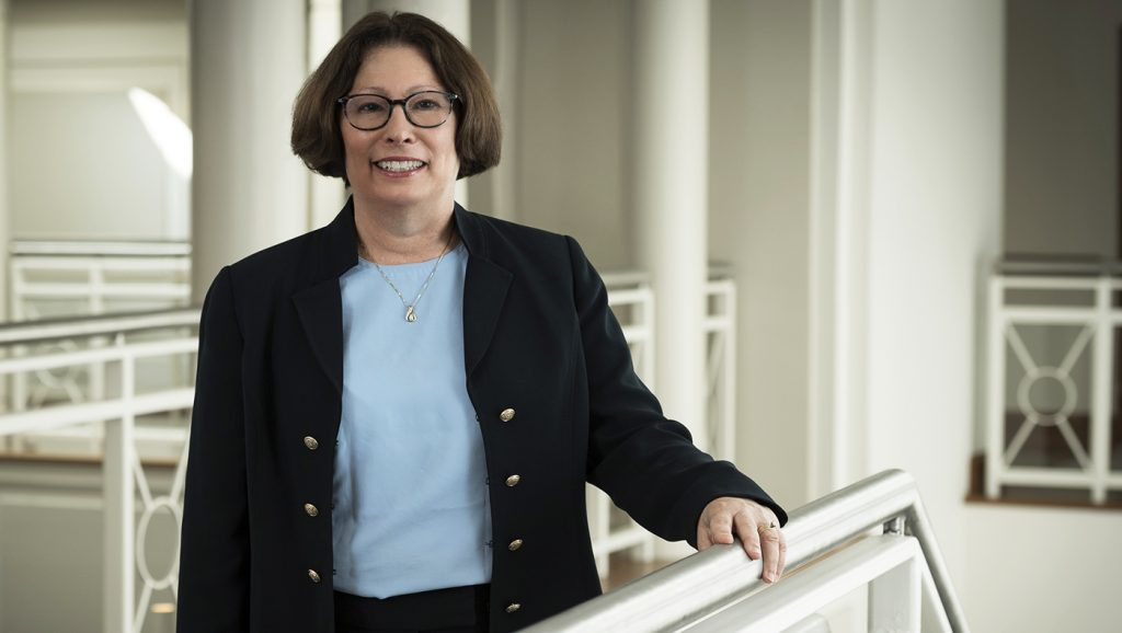 UD Professor Sheryl Kline is the University's new Aramark Chair in Hospitality Business Management.