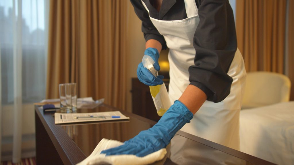 Research from UD Lerner hospitality professor Sheryl Kline can help travelers to understand the cleanliness of hotels during the COVID-19 pandemic.