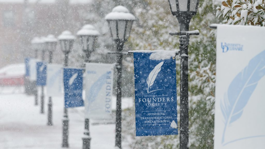 The first snowfall of the winter 2018-2019 season fell on a cold Thursday on November 15th, blanketing the campus in snow and sleet.